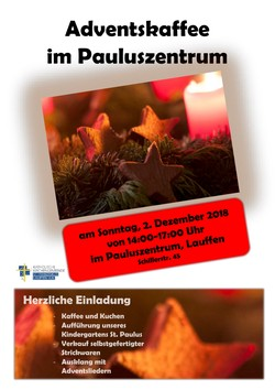 Plakat Adventskaffee